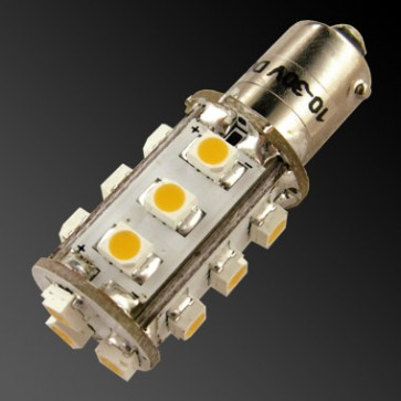 15-LED-Ba9S-Bayonet-Lamp