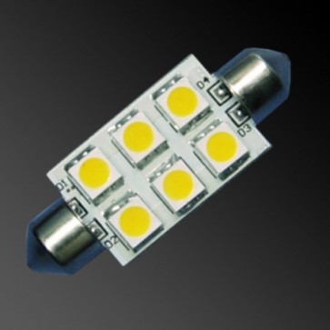 6 LED 42mm Festoon