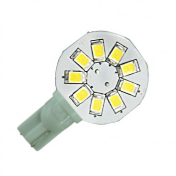 9 LED T10 Side Pin