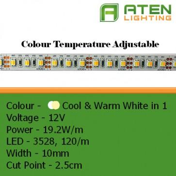 3528 CCT Colour Temperature Adjustable LED