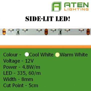 Side Lit LED 12V 3528 4.8W/m