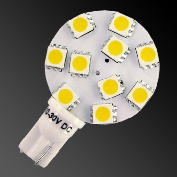 10 LED T10 Side Pin