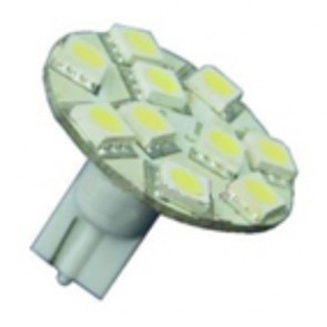 10 LED T10 Back Pin