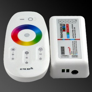 LED 2.4G RGBW Touch Controller