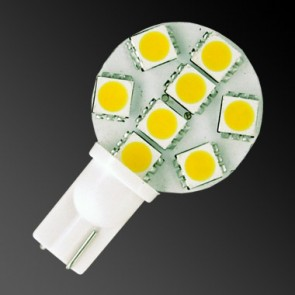 8 LED T10 Side Pin
