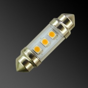 3 LED 42mm Slim Festoon