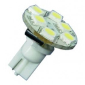 6 LED T10 Back Pin