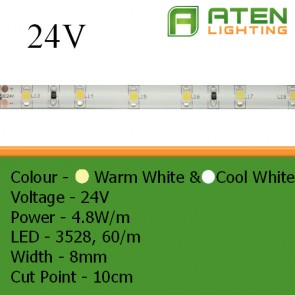 LED 24V 3528 4.8W/m
