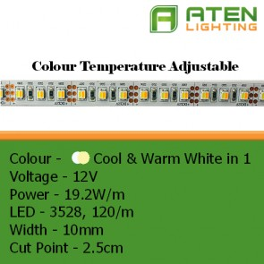 3528 CCT Colour Temperature Adjustable LED