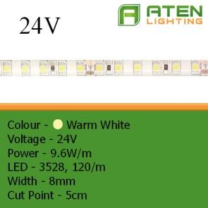 LED 24V 3528 9.6W/m