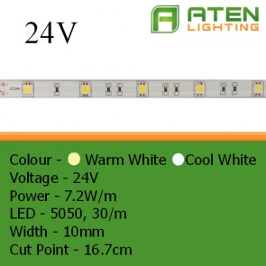 LED 24V 5050 7.2W/m