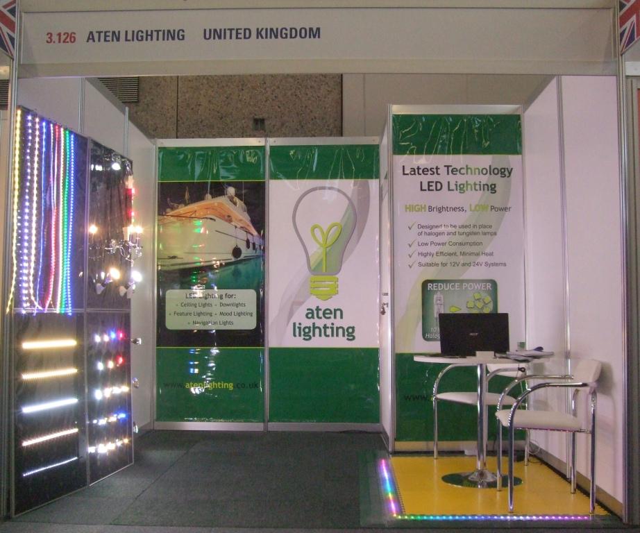 Aten Lighting's Stand - METS 2011
