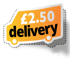£2.50 delivery on orders under £25