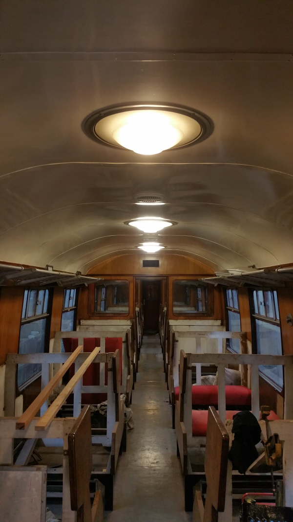Flying Scotsman Carriage Lighting