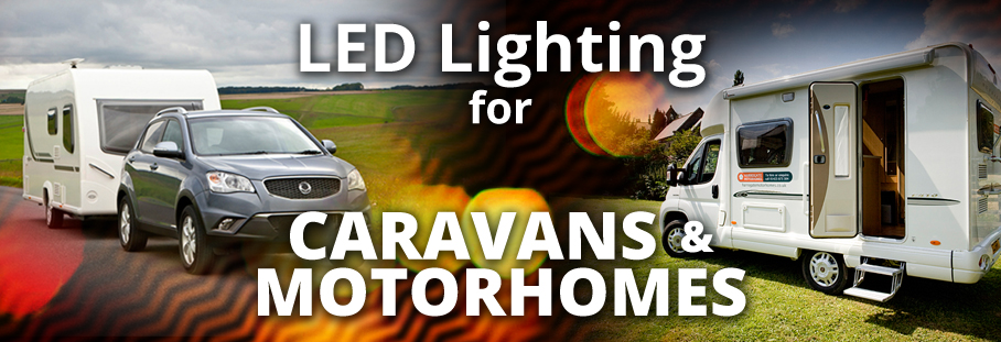 LED caravan lighting