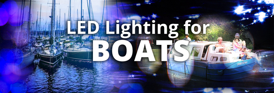 LED lighting for boats