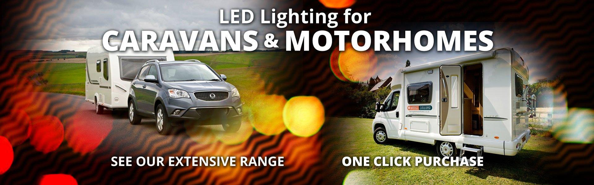 Caravan and Motorhome lighting