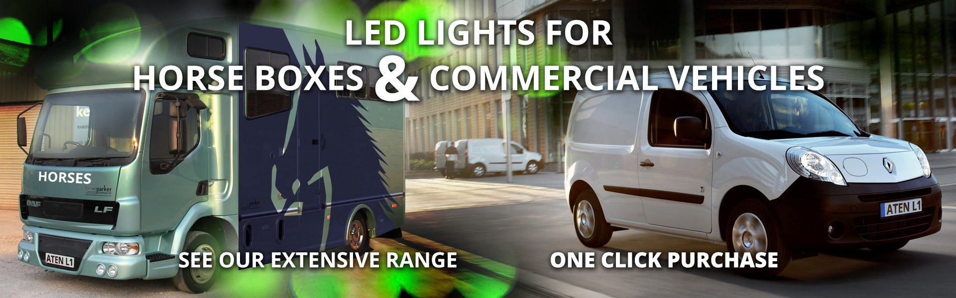 Horsebox and Commercial Vehicle LED Lighting
